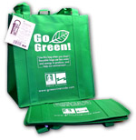 FREE Go Green Reusable Shopping Bags