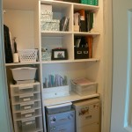 Bedroom #3 walk-in closet with practical organizer!